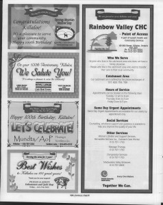 A trip down memory lane, produced by the Eganville Leader to commemorate Killaloe's centennial, in August 2008. Page 12