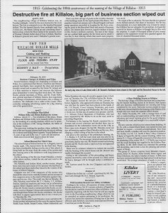 A trip down memory lane, produced by the Eganville Leader to commemorate Killaloe's centennial, in August 2008. Page 19