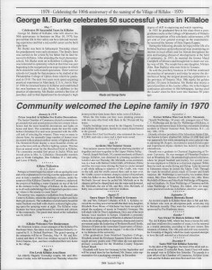 A trip down memory lane, produced by the Eganville Leader to commemorate Killaloe's centennial, in August 2008. Page 71