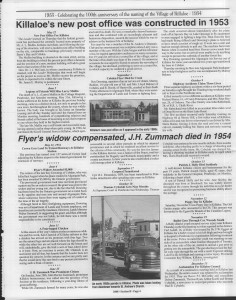 A trip down memory lane, produced by the Eganville Leader to commemorate Killaloe's centennial, in August 2008. Page 47