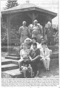 Photo of the Killaloe Millennium Homecoming Committee. Eganville Leader Photo.