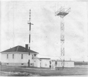 Photo of the Killaloe Weather Station. Pearl Murack Collection.