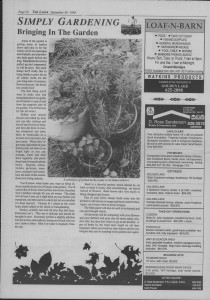 The Laker Issue 20 From , Friday, September 30, 1988.