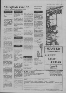 The Laker Issue 21 From , Friday, October 7, 1988.