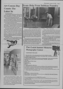The Laker Issue 22 From , Friday, October 14, 1988.