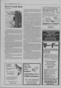 Laker Issue 23, 1988-10
