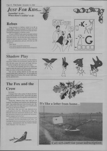 The Laker Issue 26 From, Friday, November 11, 1988.