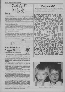 Laker Issue 34, 1988-2