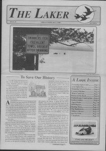 The Laker Issue 35 From, Friday, February 3, 1989.