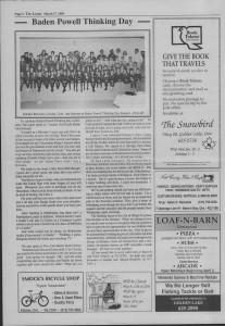 The Laker Issue 38 From, Friday, March 17, 1989.