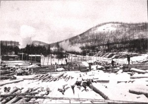 Photo of JR Booth Lumber Camp 1. c