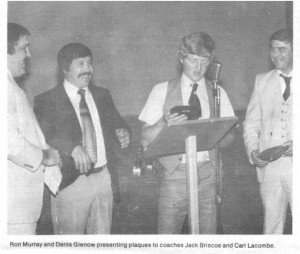 This photo and the related photos and story chronicle the winning 1981 season of the Killaloe Kings from the Eganville Leader.