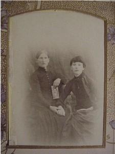 family photo- two women unidentified