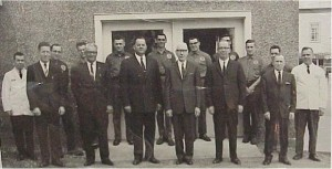 group of men outside unknown
