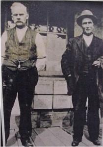 two unidentified gentleman