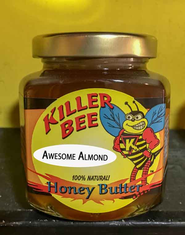 Awesome Almond Honey Butter