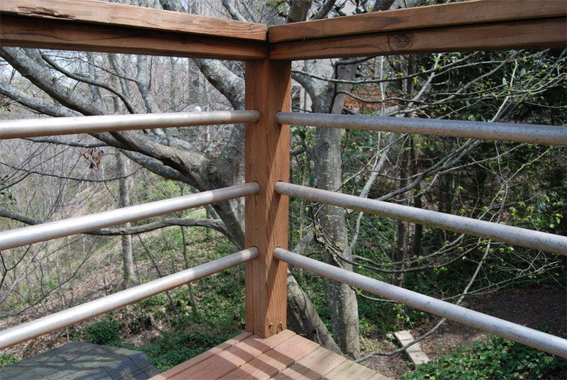 Diy Tension Cable Railing Killer Design | Diy Galvanized Pipe Handrail | Entrance | Abs Pipe | Curved Steel Pipe | Repurposed | Simple Pipe