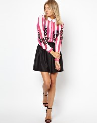 ASOS Shirt in ''LOVE ME'' Placement Print €46.85