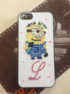 Handmade Despicable Me iPhone Case €18 http://craftbay.ie/Product/698/Mobile-Accessories/Phone-cases-And-Wallets/Handmade-Iphone-4-Cover-Can-Be-Made-For-Any-Phone
