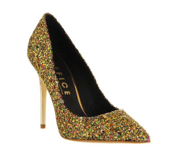 Office €77 - On Top Gold Multi Glitter