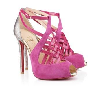 Christian Louboutin €795 - Carlota Glitter Sandals