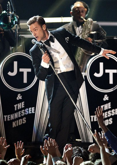 Performing at the Grammys 2013