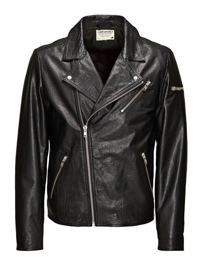 Jack & Jones €229.95 - Classic Biker Leather Jacket http://bit.ly/1BtbYmL
