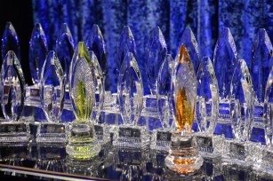People's Choice Awards are handmade in Ireland by Waterford Crystal