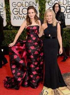 Tina Fey & Amy Poehler red carpet