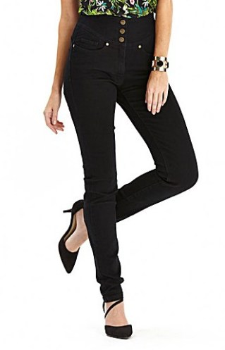 Simply Be €49.99 - Waist Smoother Slim Leg Jeans http://bit.ly/1E27jf5