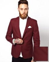 ASOS €92.86 - Slim Fit Blazer In Cotton http://bit.ly/1BrP0wm