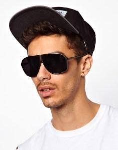 Reclaimed Vintage €27.40 - Aviator Sunglasses http://tinyurl.com/nr2juc3