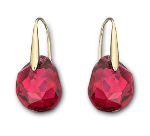 Swarovski €55 - Galet Pierced Earrings http://tinyurl.com/p46l8rp
