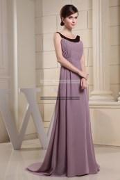 €109 - Chic Bateau Long Brown Evening Dresses http://www.fannycrown.com/chic-bateau-long-brown-evening-dresses.html
