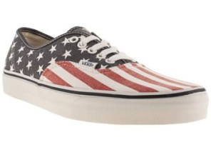Vans €48.99 - Navy & Red Authentic Trainers http://bit.ly/1FIPXra