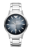 Emporio Armani €240 - AR2472 CLASSIC Silver Stainless Steel Mens Watch http://tinyurl.com/ooaos5p