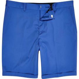 Limited Edition Cobalt Blue Slim Suit Shorts €40 - http://eu.riverisland.com/men/suits/slim-fit/Cobalt-blue-slim-suit-shorts-279223