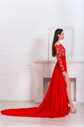 Red Lace Bodice Gown €1,224 http://phoenixanna.com/index.php?route=product/product&path=61&product_id=72