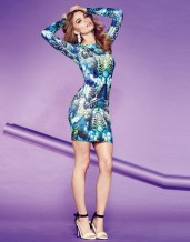 Lipsy €55 - http://www.lipsy.co.uk/store/dresses/lipsy-long-sleeve-printed-bodycon-dress/product-is-JD02888_031