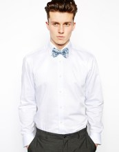 Ted Baker €56.34 - Cord Bow Tie With Floral Print http://bit.ly/1mNl3hk