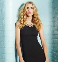 Quiz €35.09 - Black And Gold Textured Crepe Bodycon Dress http://bit.ly/1kunafg