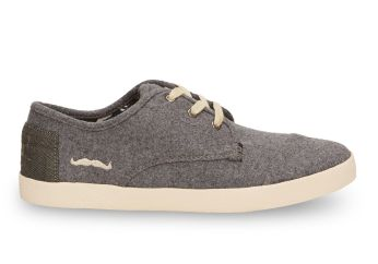 Toms €70 - Grey Wool Women's Paseos http://bit.ly/1xHSFnM