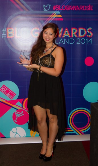 Accepting the Best Group Blog award for Picture This