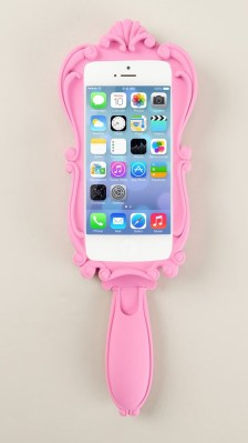 Moschino €52 - iPhone 5/5S Mirror Case http://bit.ly/1pZf6X1