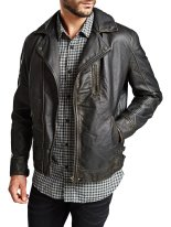 Jack & Jones €219.95 - Classic Biker Leather Jacket http://bit.ly/1xbo6co