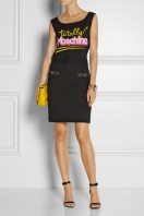 Moschino €255 - Intarsia cotton top http://bit.ly/1oW7ALD