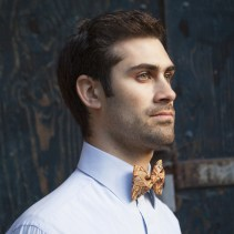 Mrs. Bow Tie €27.53 - Orange & Brown Paisley Bowtie http://bit.ly/14w7OA0