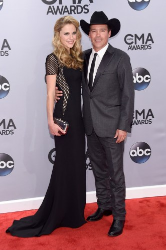Jessica Craig and Clay Walker