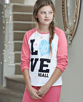 M&S €19 - Pure Cotton Niall One Direction Pyjamas http://bit.ly/11ejx4v