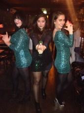(L-R) Nadine, myself & Jessika